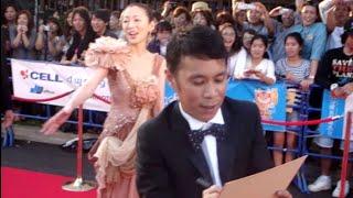第2回沖縄国際映画祭 2010年3月25日 レッドカーペット 松雪泰子 岡村隆...