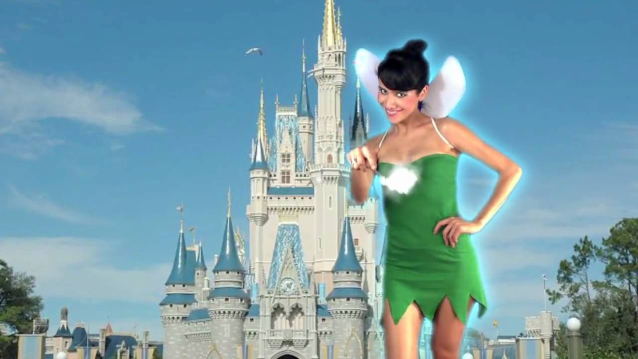 How to tinkerbell costume from a t shirt youtube solutioingenieria Choice Image