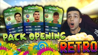 RETRO FIFA PACK OPENING! - WORLD CUP EDITION OF ULTIMATE TEAM