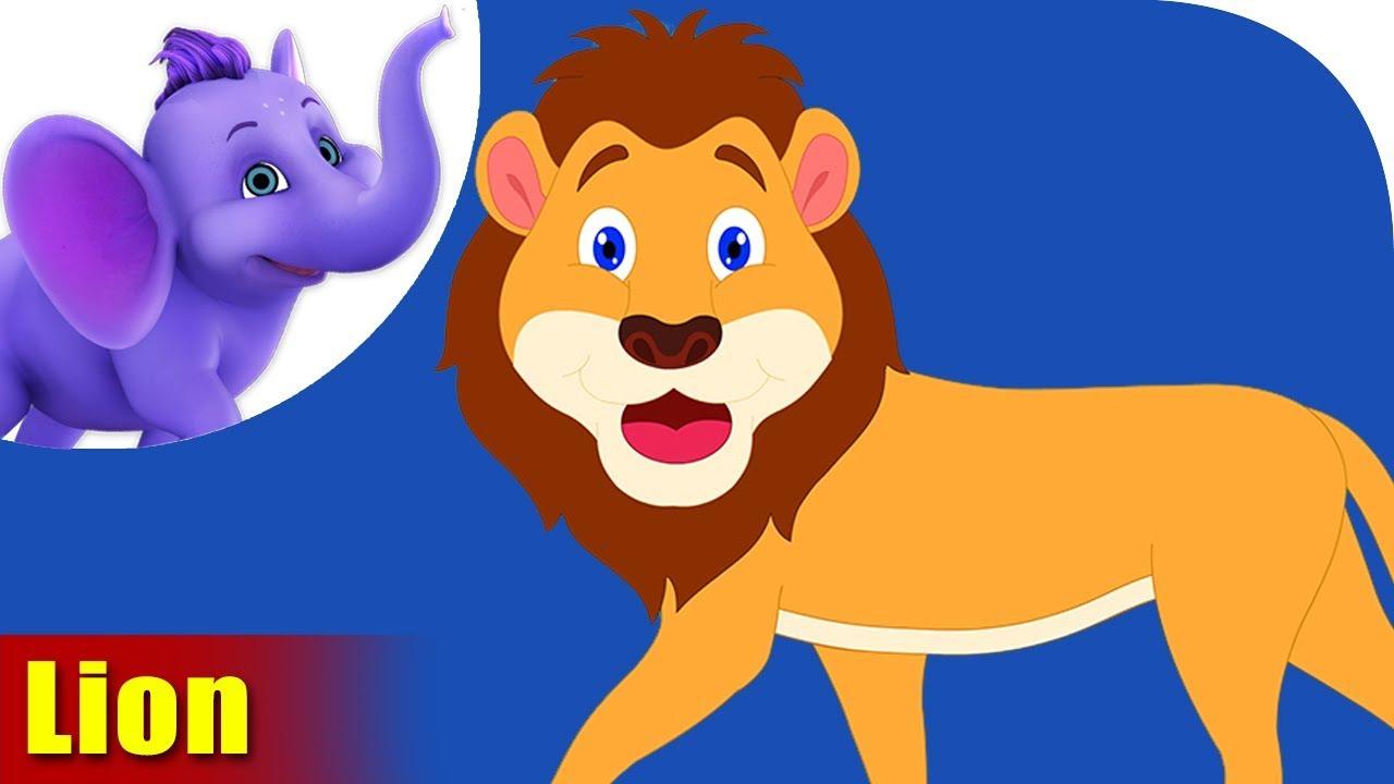 Sher (Lion) - Animal Rhymes in Hindi