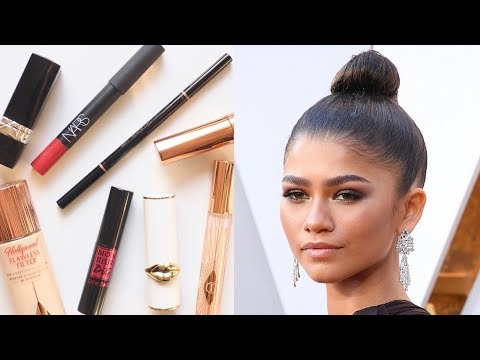 Zendaya Makeup Bag | Sleek Smoky Eyes and Red Lipstick thumbnail