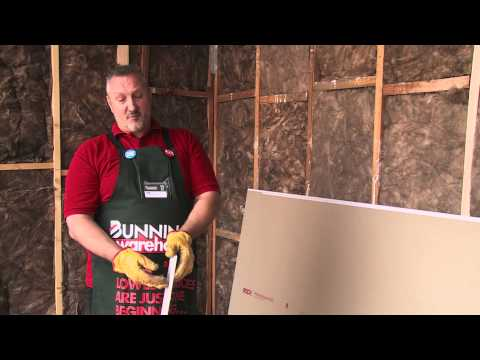 how-to-plasterboard-a-stud-wall---diy-at-bunnings