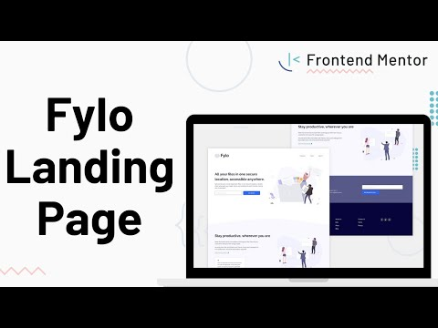 Fylo Landing Page - Design To HTML/CSS