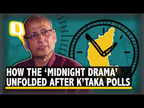 How The 'Midnight Drama' Unfolded After The Karnataka Results