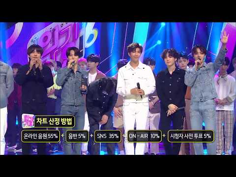 180610 Inkigayo end cut + BTS speech~ Don't miss 00:17-00:24