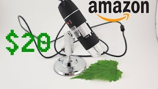 Jiusion $20 Digital Microscope…