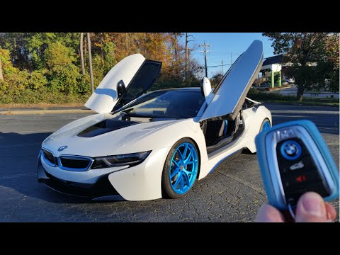2015 Bmw I8 Start Up Exhaust And Review Youtube