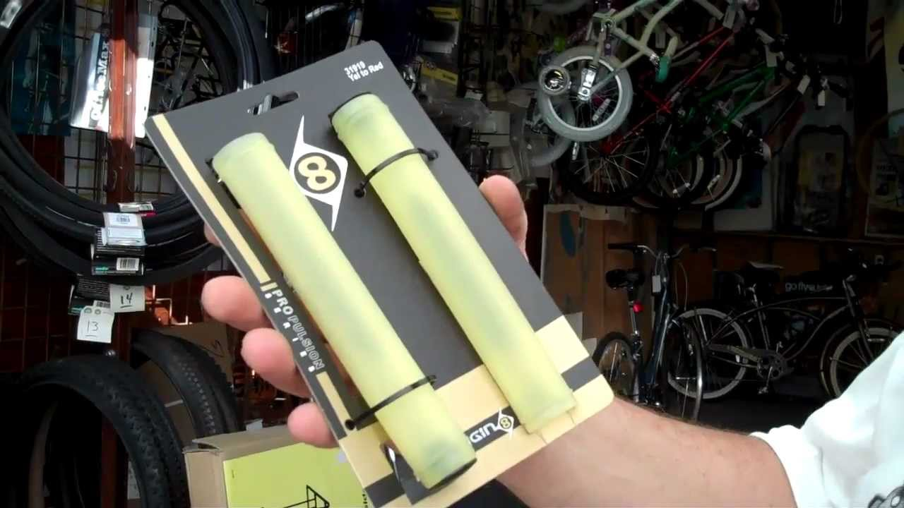 ORIGIN 8 COLOR CHANGING YELLOW TO RED BICYCLE HAND GRIPS