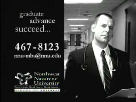 Northwest Nazarene University  Healthcare MBA Spot 20062007 :15