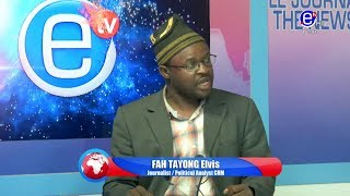 THE 6PM NEWS (Guest: FAH TAYONG Elvis) TUESDAY 10th DECEMBER 2019 - EQUINOXE TV