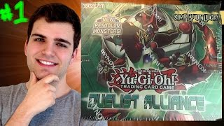 Best Yugioh Duelist Alliance 1st Edition Booster Box Opening! OH BABY!! A Sad Day for Simply.. Thumbnail