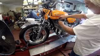 Kawasaki H2 750 Triple 1250 5 Cylinder Allen Millyard Dyno Test!!