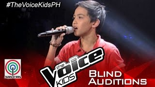 "The Voice Kids Philippines 2015 Blind Audition: ""If I Sing You A Love Song"" by Benedict"
