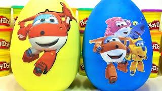 Harika Kanatlar Super Wings | Sürpriz Yumurta Oyun Hamuru Videoları 7 | Evcilik TV