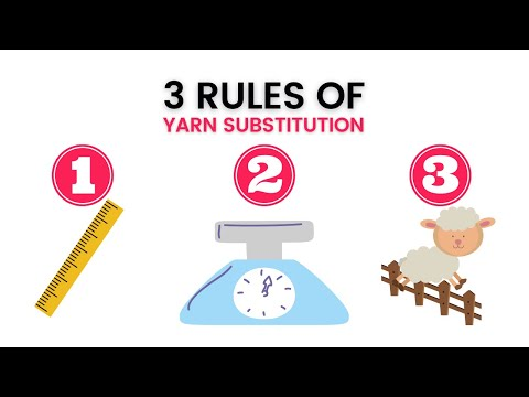 Yarn Substitution Basics For Knitters