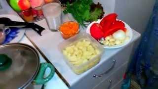 Суп Харчо, как готовить харчо, готовим харчо, креветки, креветки в сырно-сливочном соусе