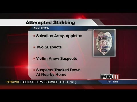 5PM TUES APPLETON SALVATION ARMY INCIDENT