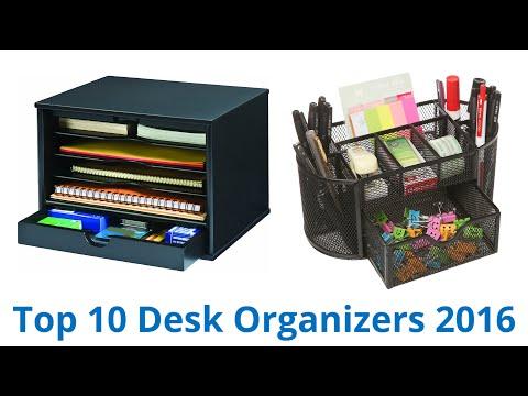 10 Best Desk Organizers 2016