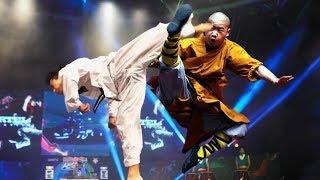 Монах ШАОЛИНЯ против Тхэквондо   реальный бой