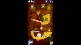 Cut the Rope: Magic. Level 5-7. Ancient Library.