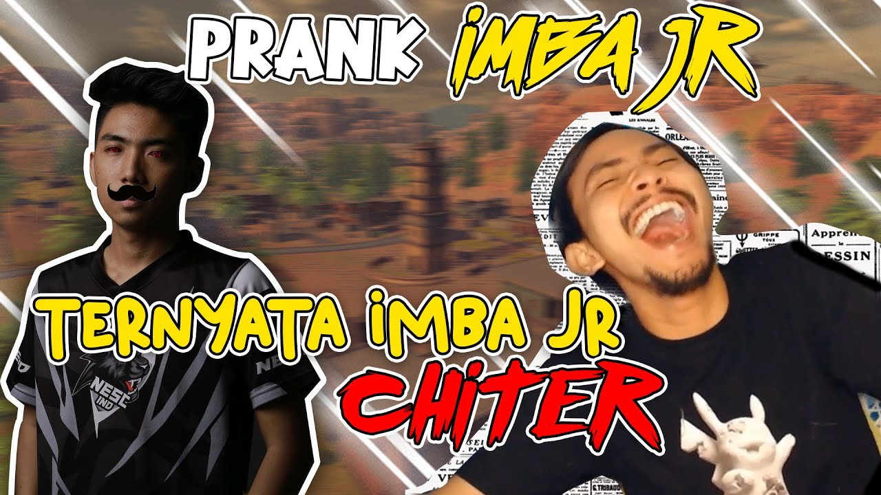 PRANK IMBA JR, TERNYATA IMBA JR CHITER..?? #KULGAR7M