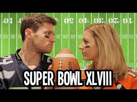 NFL Super Bowl XLVIII | Spencer vs Alex