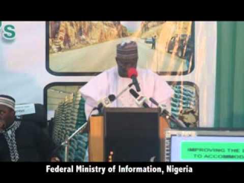 Ministerial Platform 2013: Presentation of the Hon. Minister of Transport, Sen. Idris Umar.