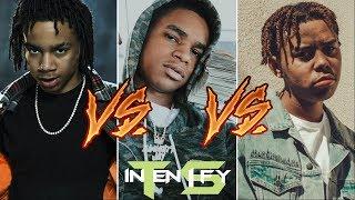 Flow Showdown - YBN Nahmir vs Almighty Jay vs Cordae (Episode 10)