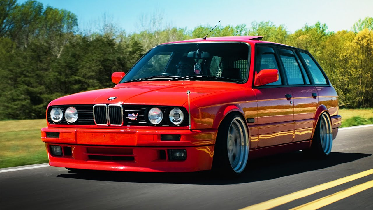 the indispensable s52 powered bmw e30 wagon youtube. Black Bedroom Furniture Sets. Home Design Ideas