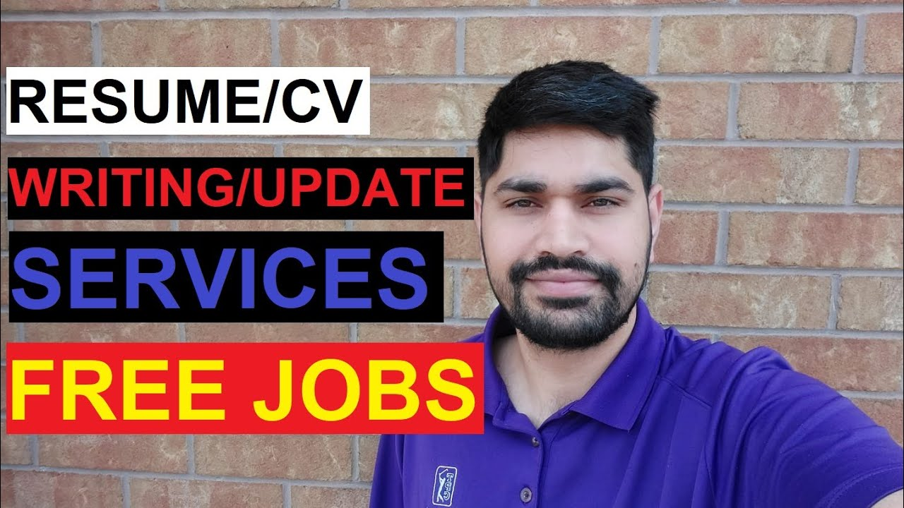 Resume/CV Writings and Update Services for FREE JOBS 2021