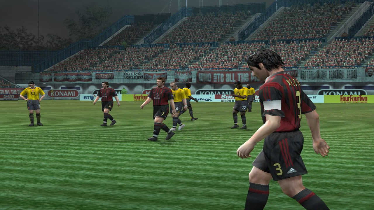 Pro Evolution Soccer 5 - 2005 - Arsenal F C  VS A C  Milan (PC)