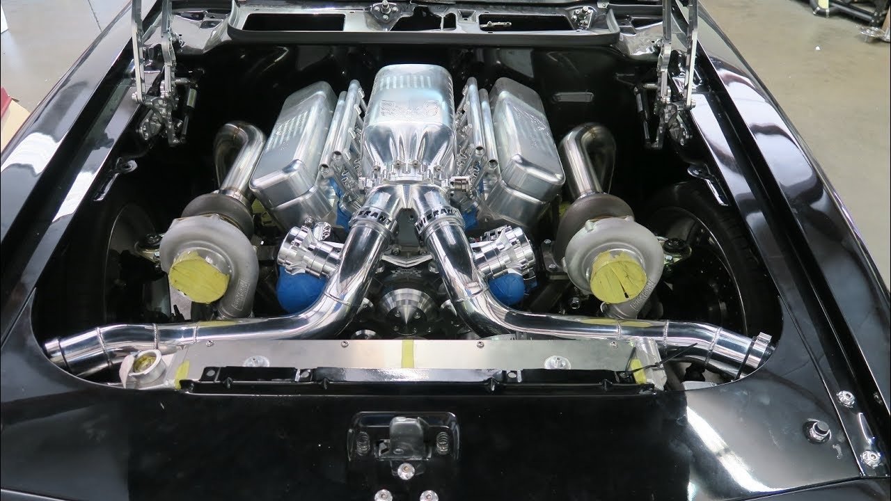 Custom Built 1000 Hp Twin Turbo Kit For 455 Trans Am