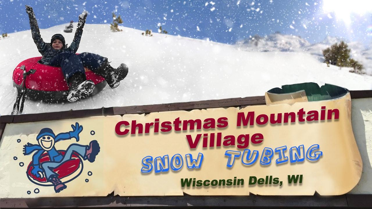 christmas mountain village - snow tubing - youtube