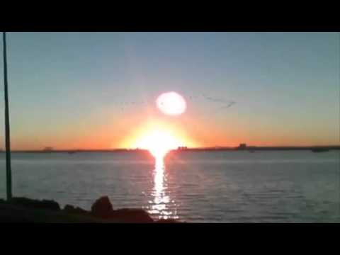 Nibiru TWO SUNS footages ~ Planet X - JANUARY 2016