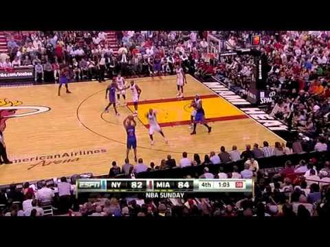 New York Knicks vs Miami Heat Full Highlights 2/27/2011