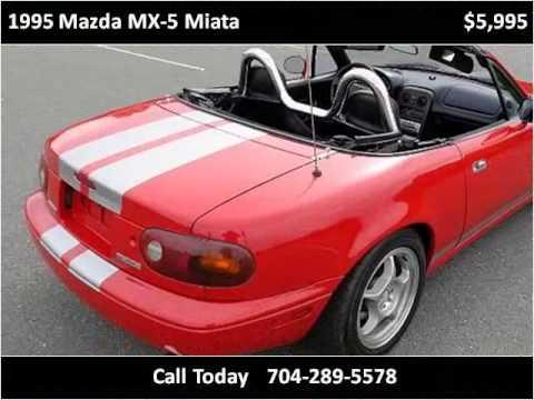 1995 Mazda Mx 5 Miata Used Cars Monroe Nc Youtube
