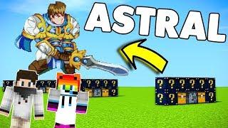 UZAY GEMİSİ İLE MAP BOMBALAMA !!! - Minecraft Astral Şans savaşı