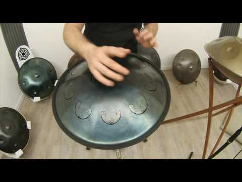 HcT Handpan Video Review -RAV Vast: Pigmy G2, C3, D3, Eb3, G3, Bb3, C4, D4, F4