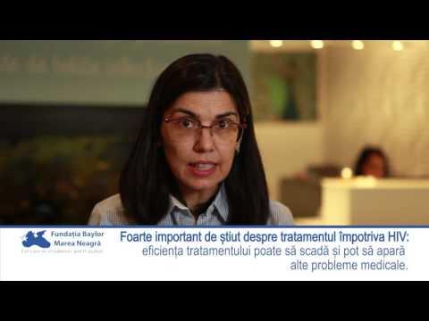 Dr Roxana Cernat: Foarte important de știut despre tratamentul împotriva HIV