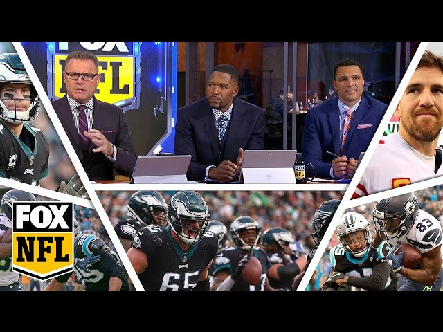 FOX NFL crew break down Week 12 Eagles, Giants & Seahawks | FOX NFL