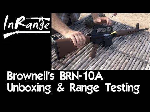 Brownells BRN-10A: Unboxing and Live Fire Testing!