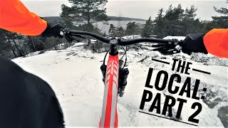 THE LOCAL Mountainbiking in the snow Part 2 2018