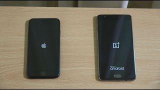 Apple iPhone 7 vs OnePlus 3 - Speed Test!
