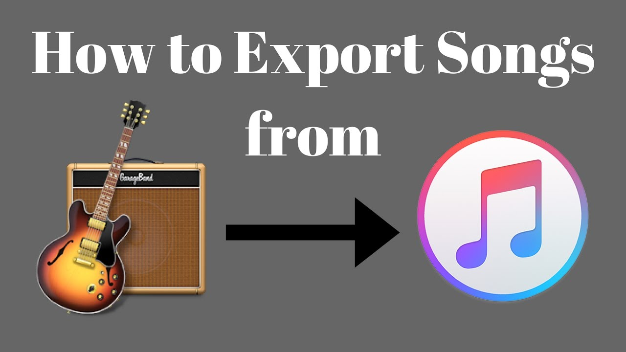 how to get your garageband songs on itunes