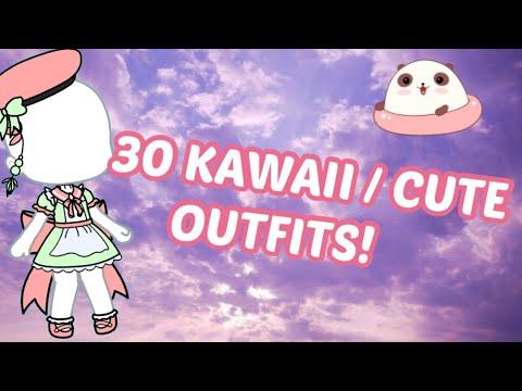 30 CUTE/KAWAII GACHA OUTFITS!