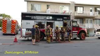 INCENDIE / FIRE / 2072 BOSSUET - MONTRÉAL / ARR. MERCIER BOROUGH / SIM / MFD / JUNE 12TH, 2018