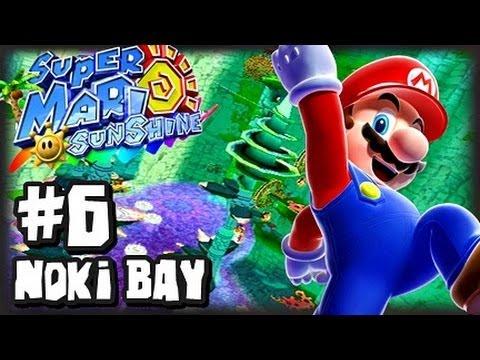 Super Mario Sunshine (1080p) - Part 6 - Noki Bay
