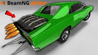 BeamNG Drive with the world's fastest drag car