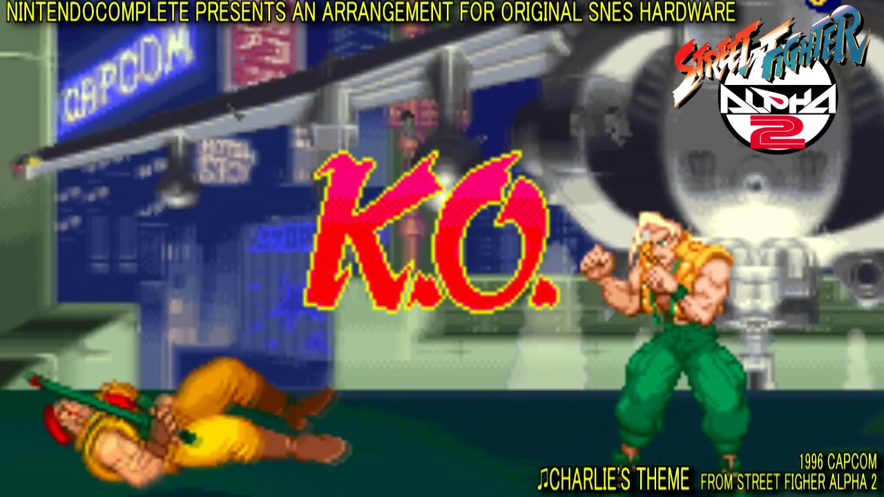 Charlie S Theme Street Fighter Alpha 2 Snes Arrangement