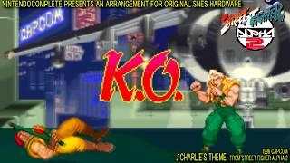 ♫CHARLIE'S THEME (Street Fighter Alpha 2) SNES Arrangement - NintendoComplete